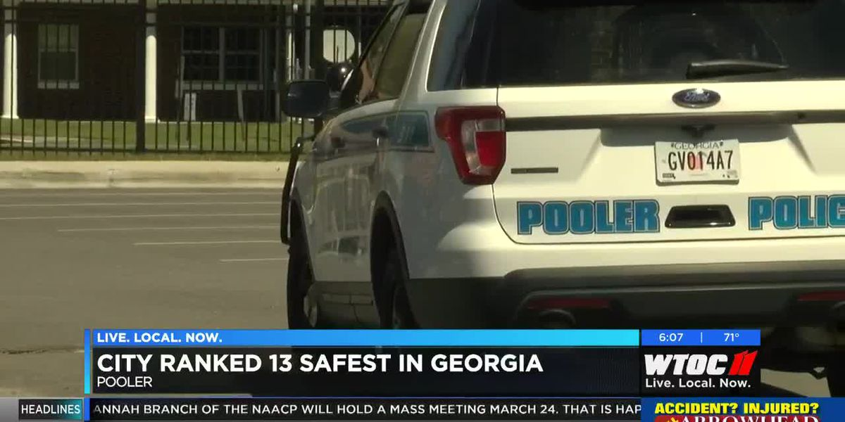 Pooler ranked one of safest cities in Georgia