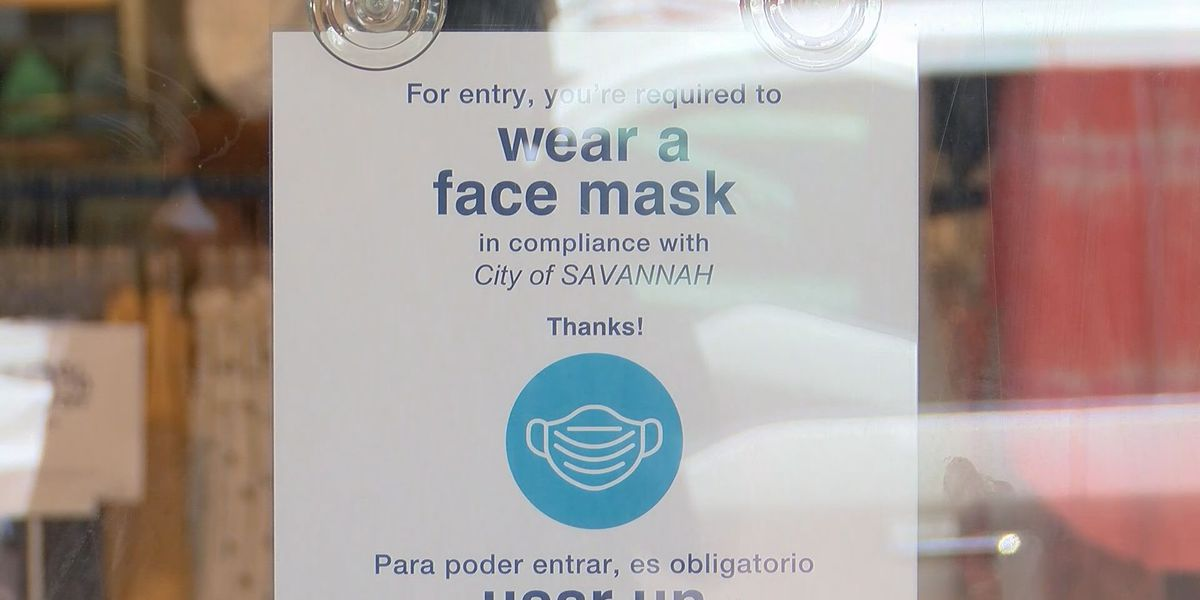 First day of mask mandate in City of Savannah