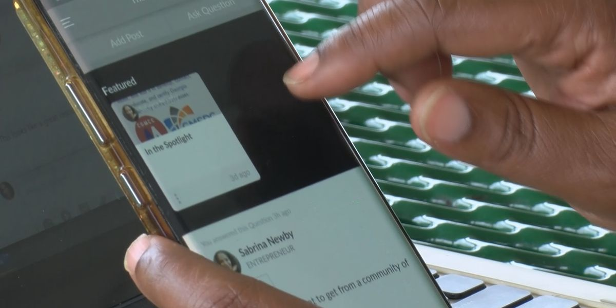 Liberty County woman develops social media platform for minority business owners