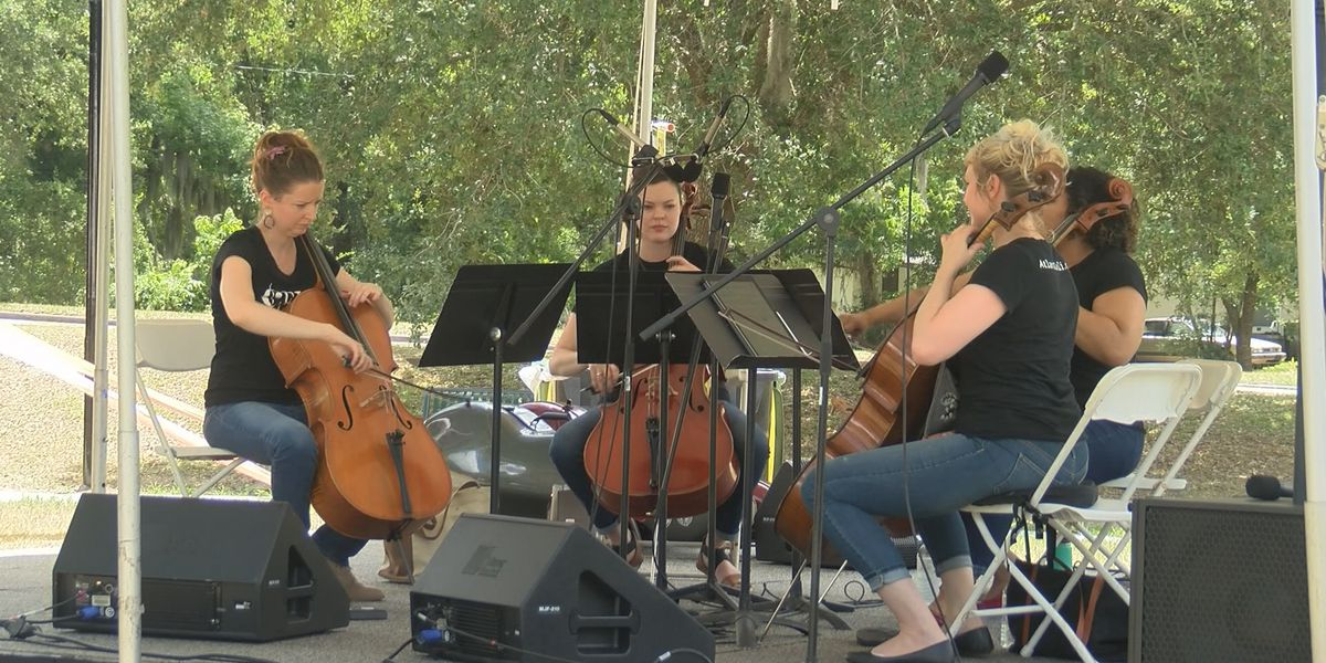 Philharmonic in the Streetz brings music to Edgemere-Sackville neighborhood