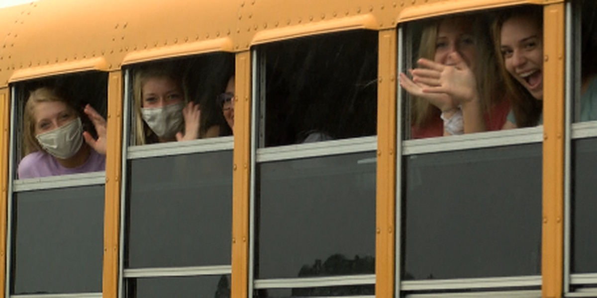 Bryan Co. softball team sent off in style