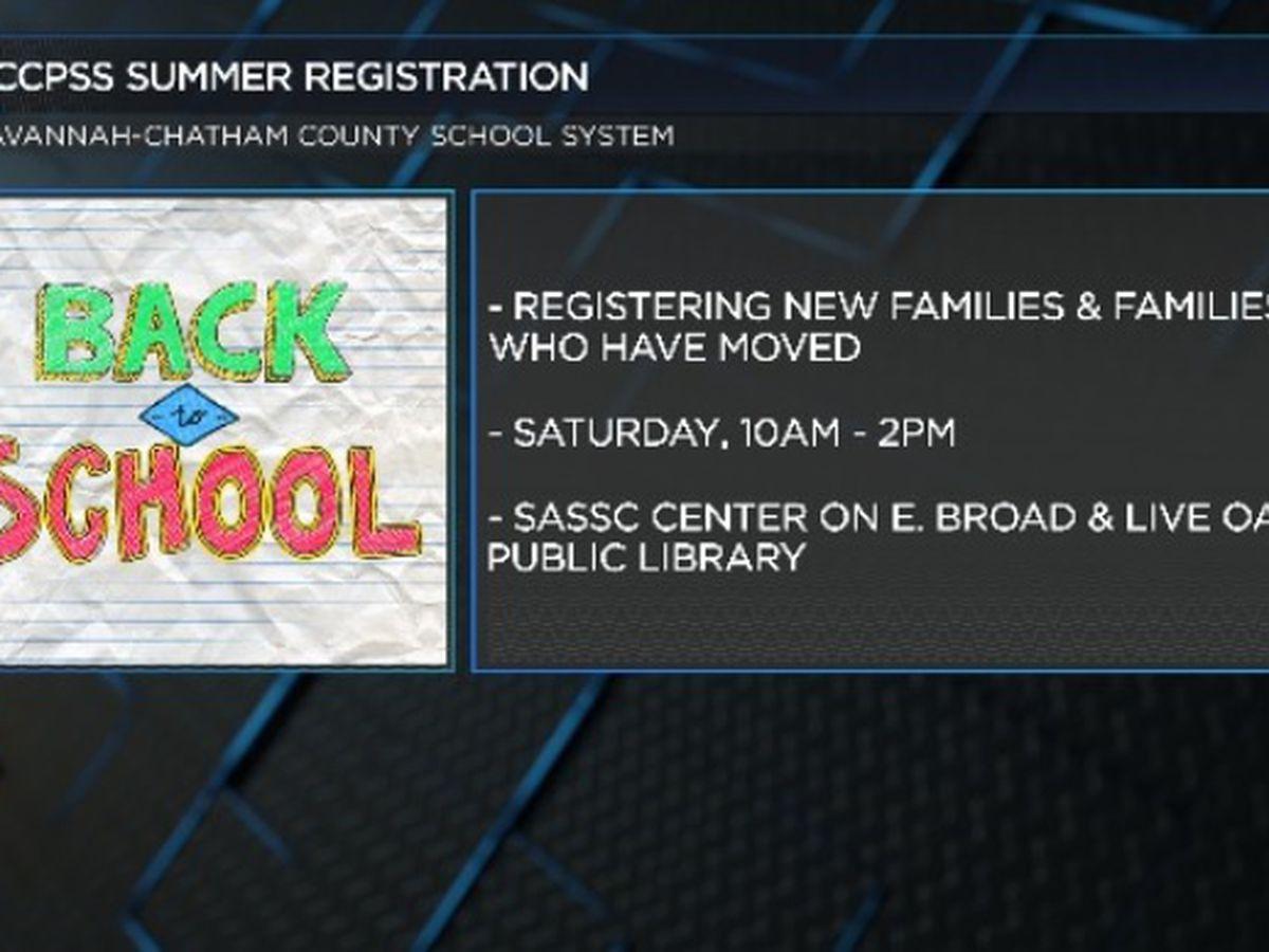 Summer registration underway for Savannah Chatham County Schools