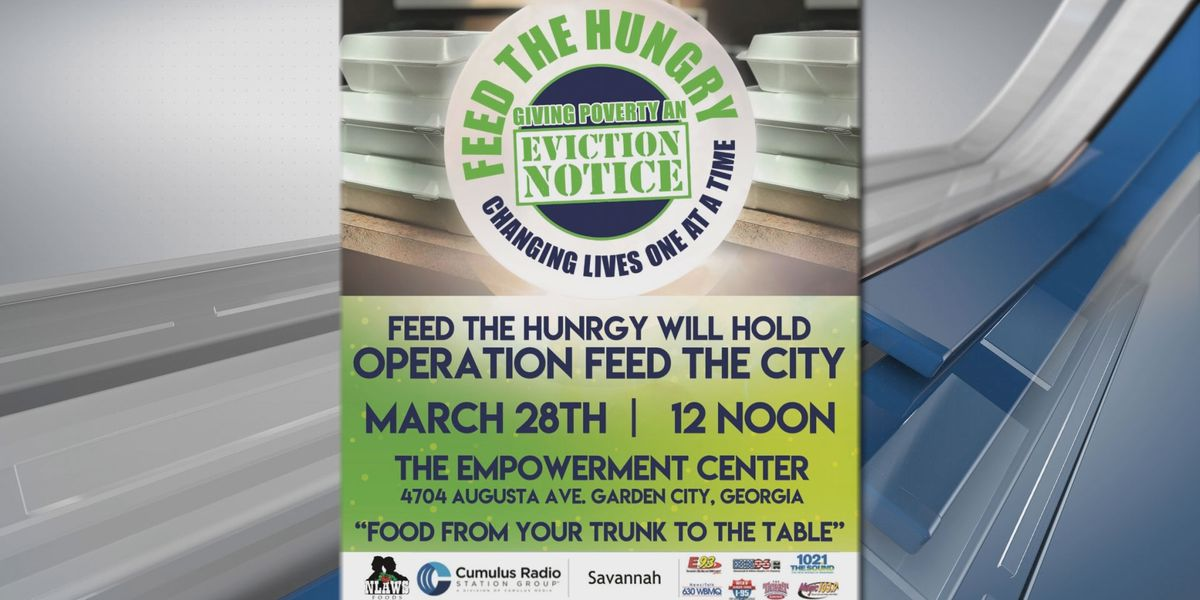 Feed the Hungry to hold 'Truck to Table' food giveaway event