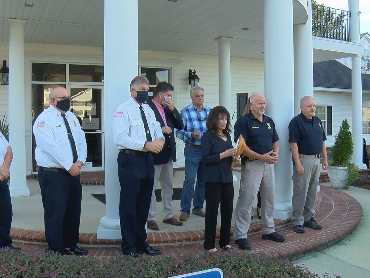 Bryan Co. community honors first responders