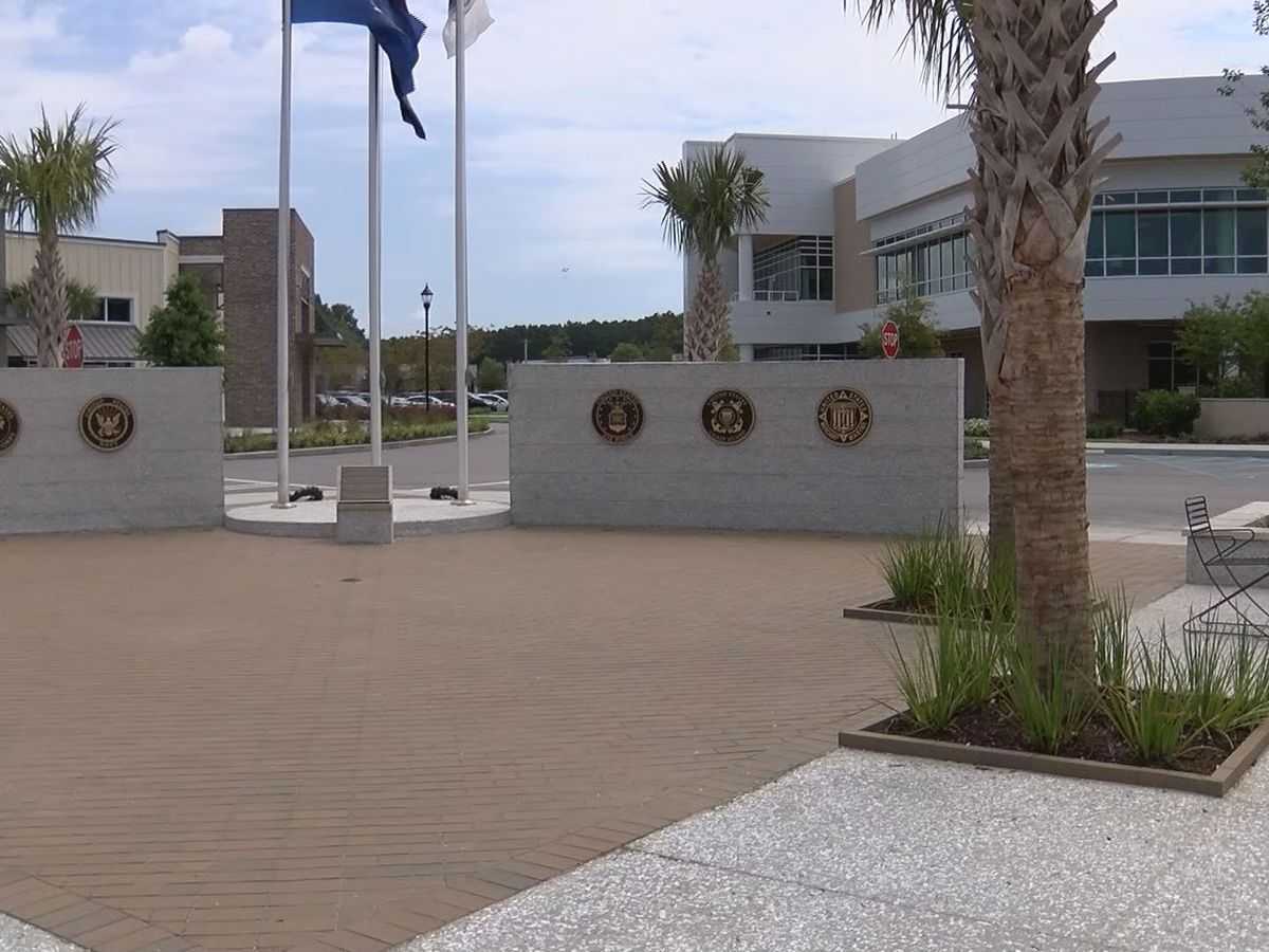 Work continues on Bluffton Veterans Memorial