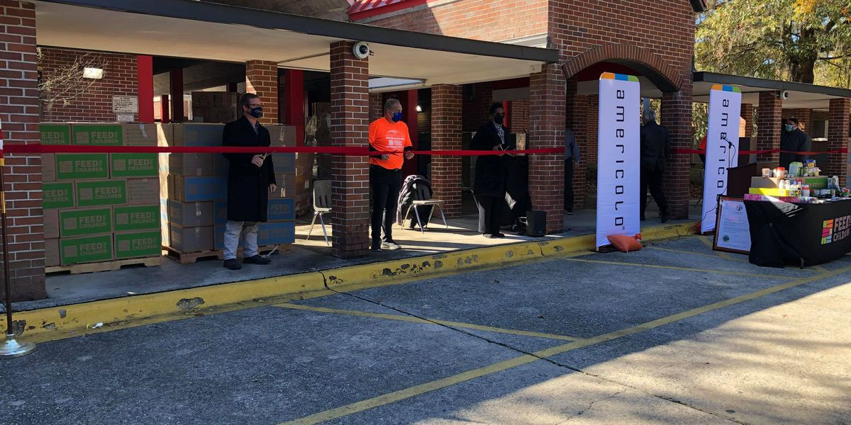 Bloomingdale Elementary School opens pantry thanks to new partnership