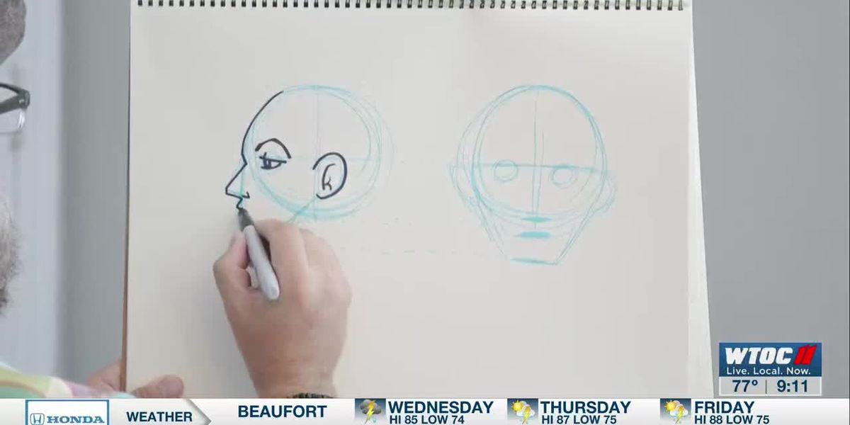 Learn to Draw: Human Face