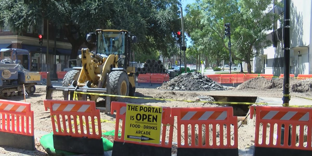 Broughton Streetscape Project runs into unforeseen repairs