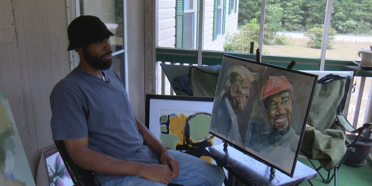 'I'm literally in the middle of nowhere': Lowcountry artist finds success in hometown with help of social media