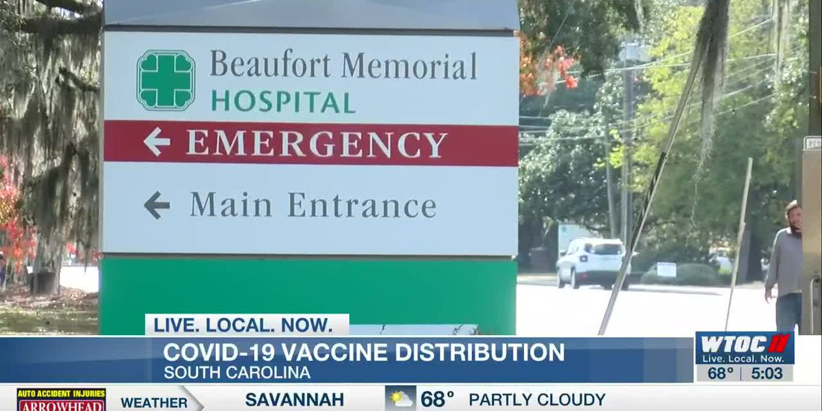 Lowcountry hospitals awaiting shipments of vaccine