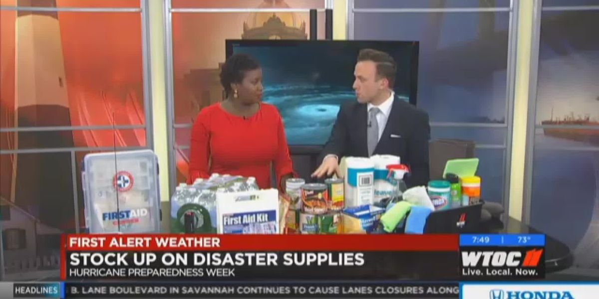 What you need in a hurricane supply kit