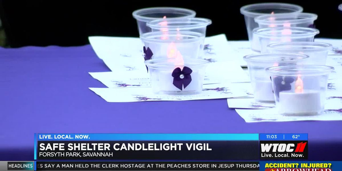 SAFE Shelter honors domestic violence victims with candlelight vigil