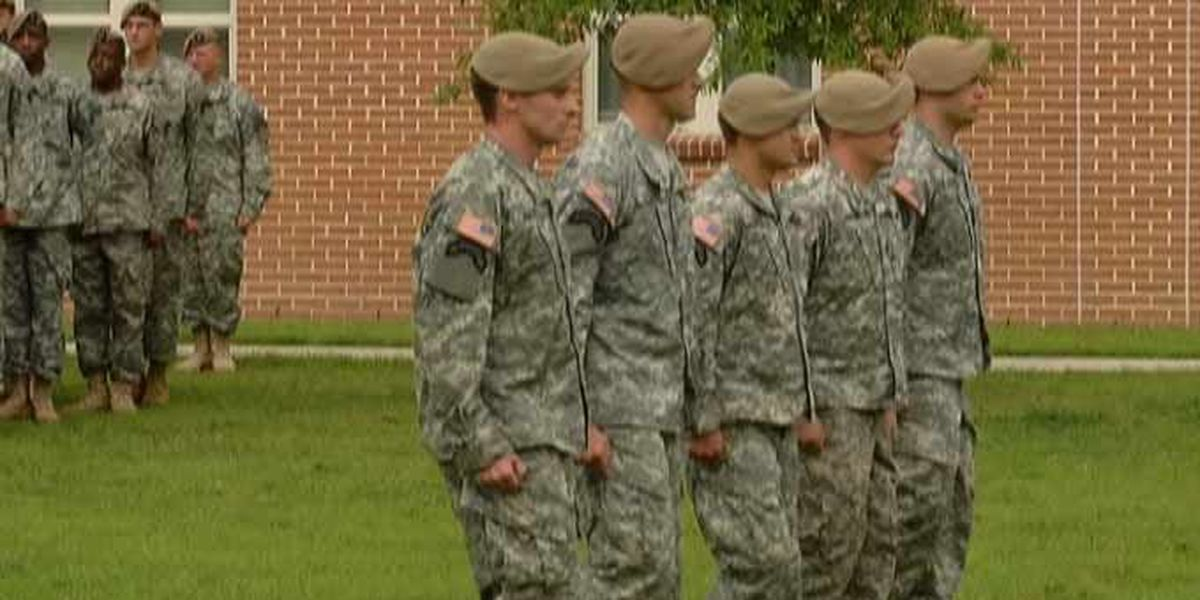 Rangers honored at medal ceremony