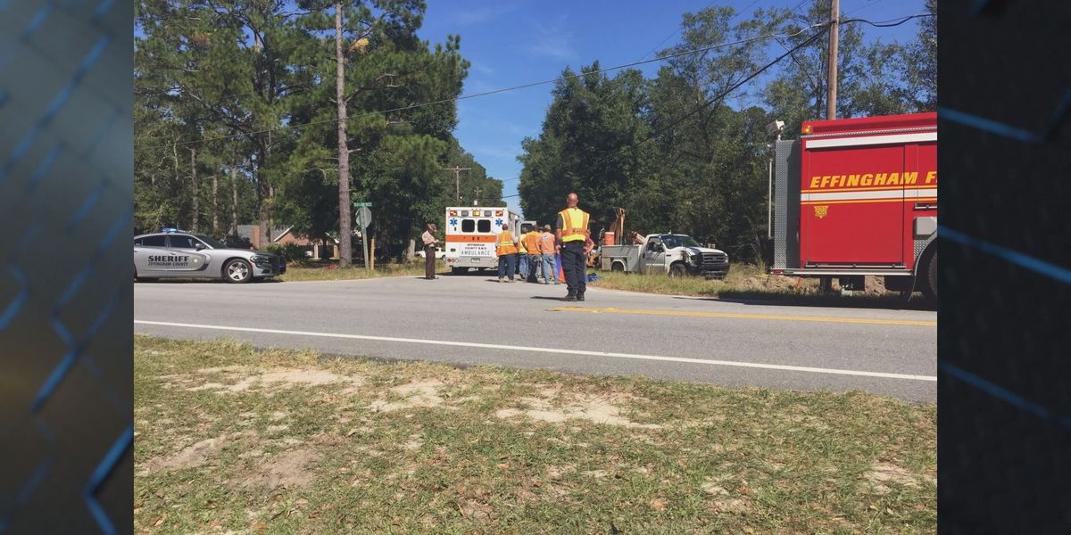 Deputies investigating accident that injured 2 workers near SEHS