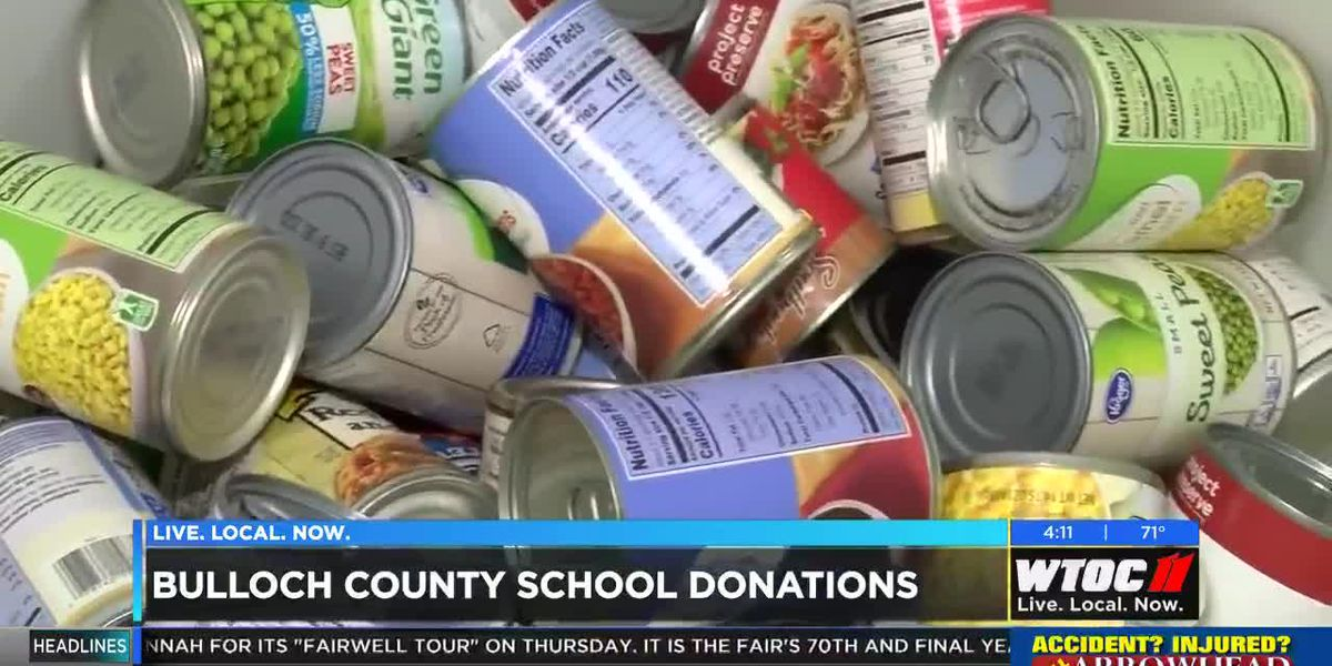 Bulloch County schools participating in food drive