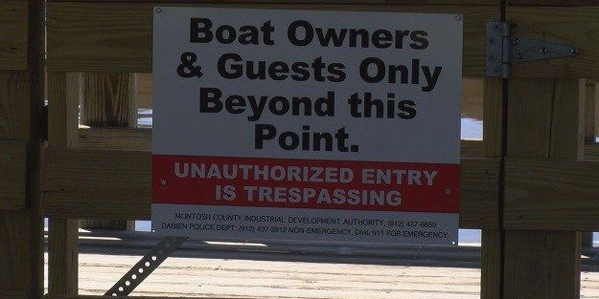 Debate over boat dock access in McIntosh Co.