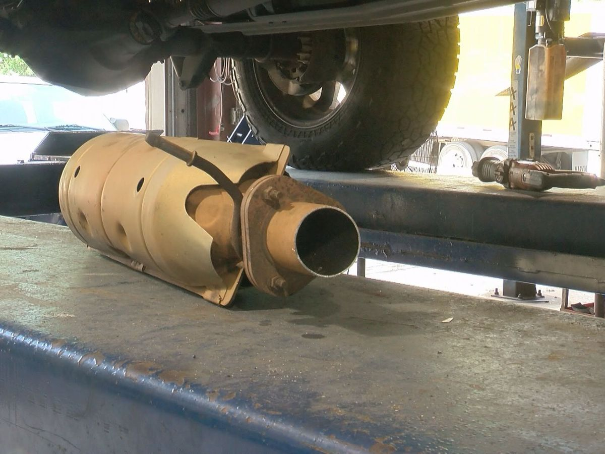 Driven to Steal: Catalytic converter theft on the rise