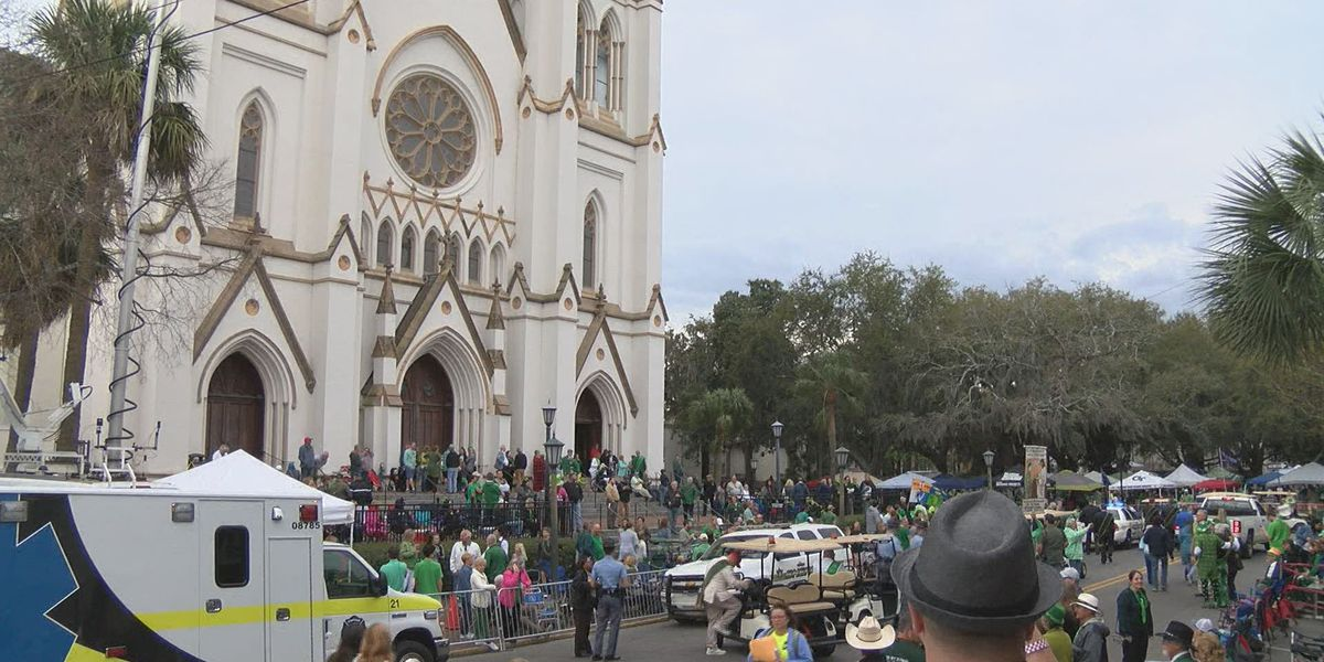 City of Savannah celebrates 195th St. Patrick's Day parade