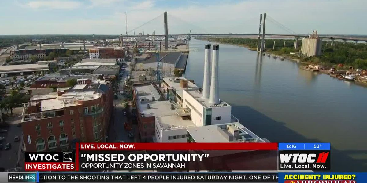 'Opportunity Zones' hope to bring economic boost to Savannah communities