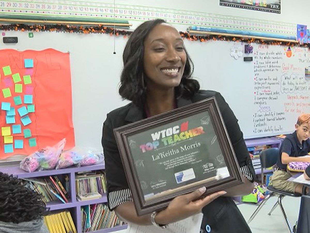 Top Teacher: La'Keitha Morris, West Chatham Elementary School