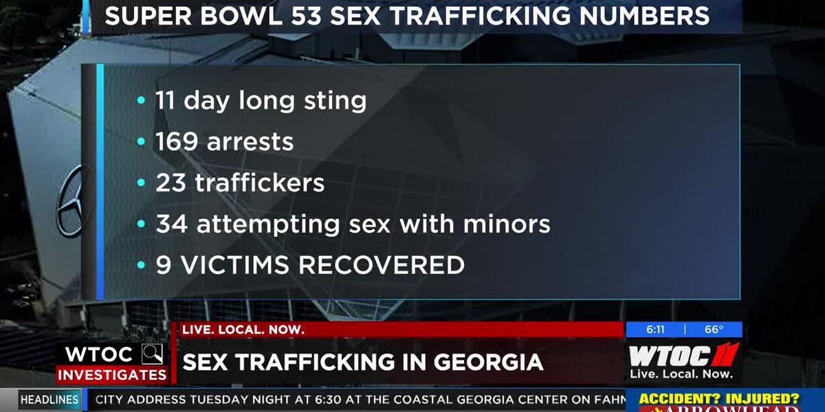 WTOC Investigates: Sex trafficking in Georgia