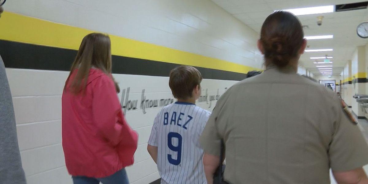 Wayne Co. deputies helping students through Adopt-A-School program