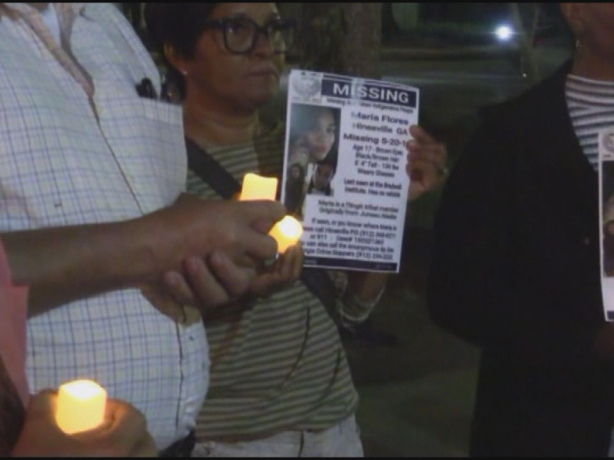 Vigil held for Hinesville teenager missing since May 20th