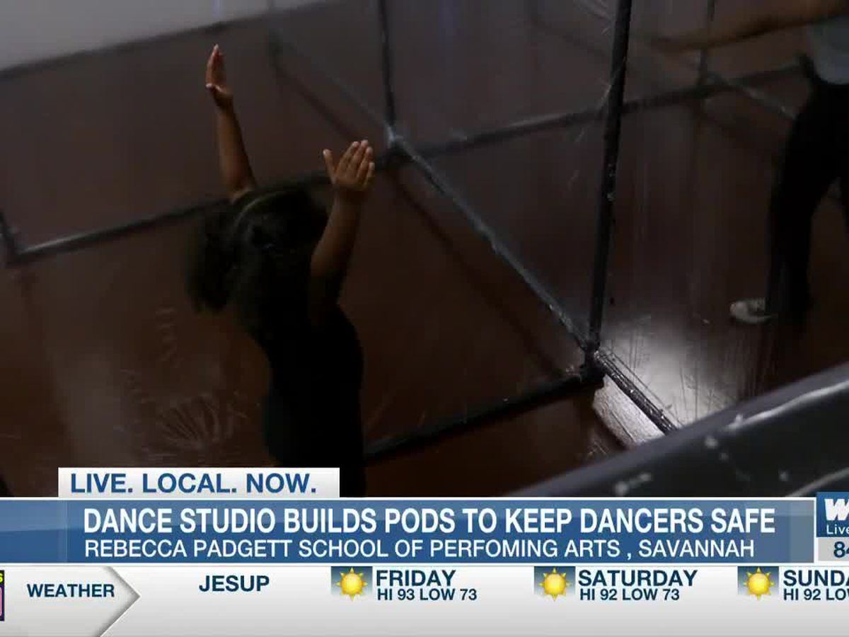 Savannah dance studio builds pods to keep dancers safe