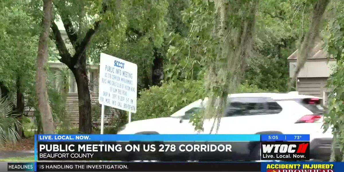 Public invited to weigh in during US 278 meeting on Hilton Head Island