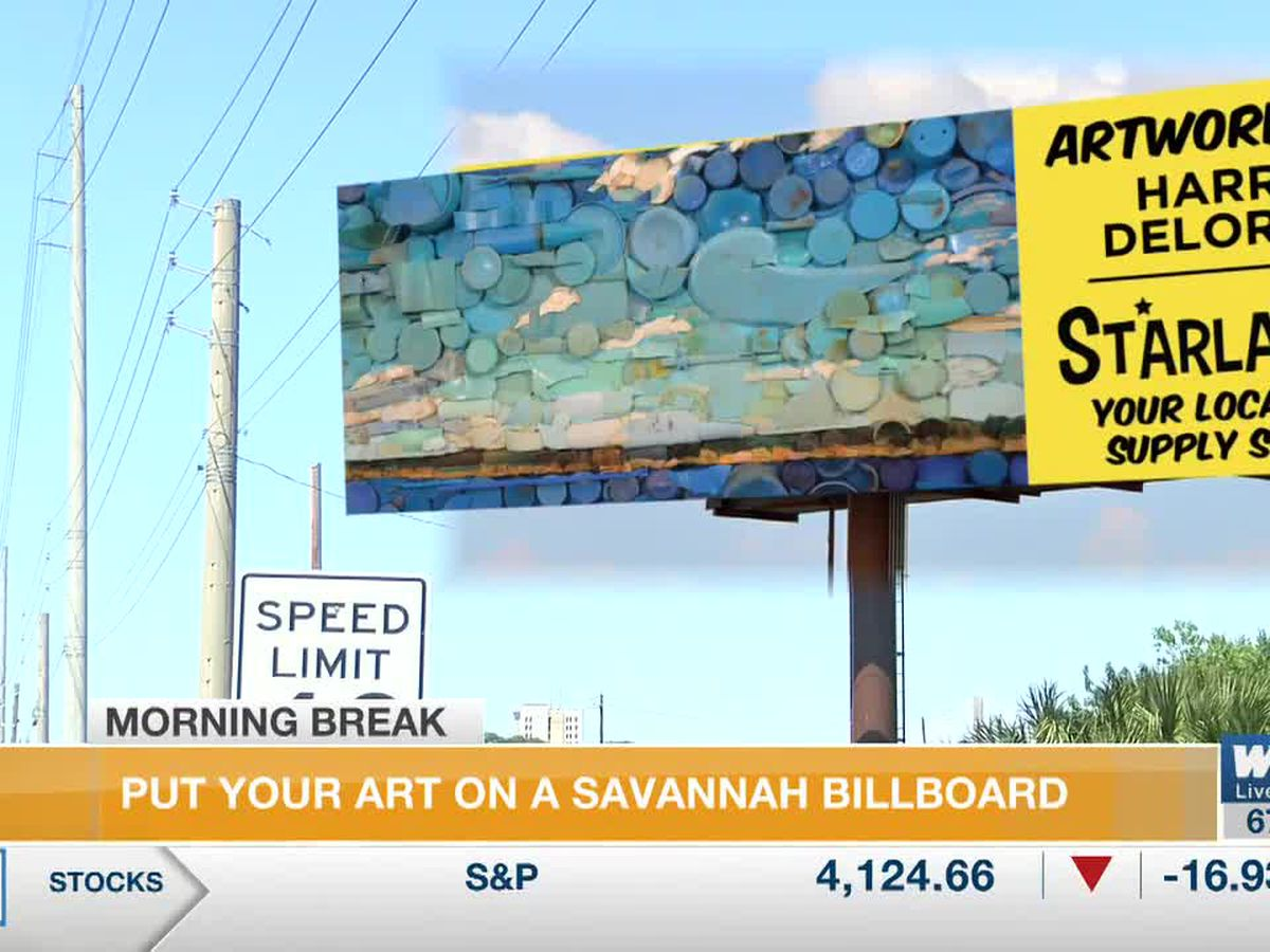 Local art to be showcased on Savannah billboards