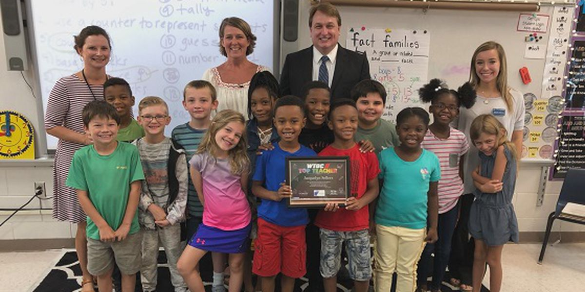 Top Teacher: Jacquelyn Sellers, Mill Creek Elementary School