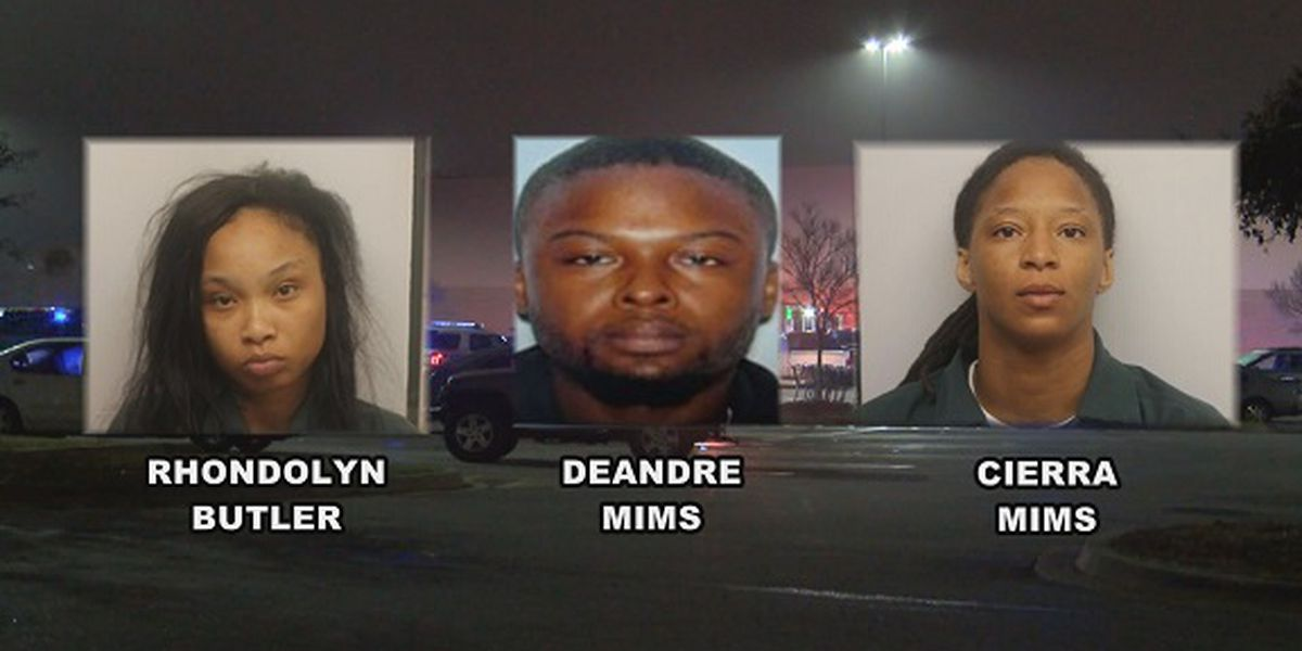 3 indicted for killing woman in Sam's Club parking lot in Pooler