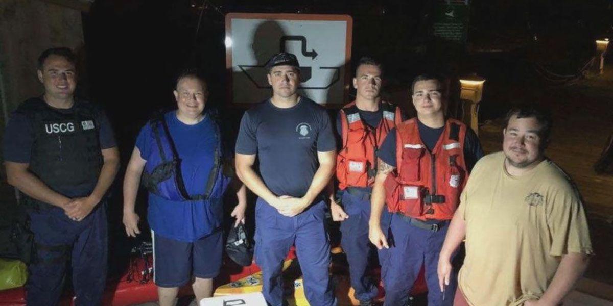 Coast Guard rescues 2 kayakers near Little Tybee