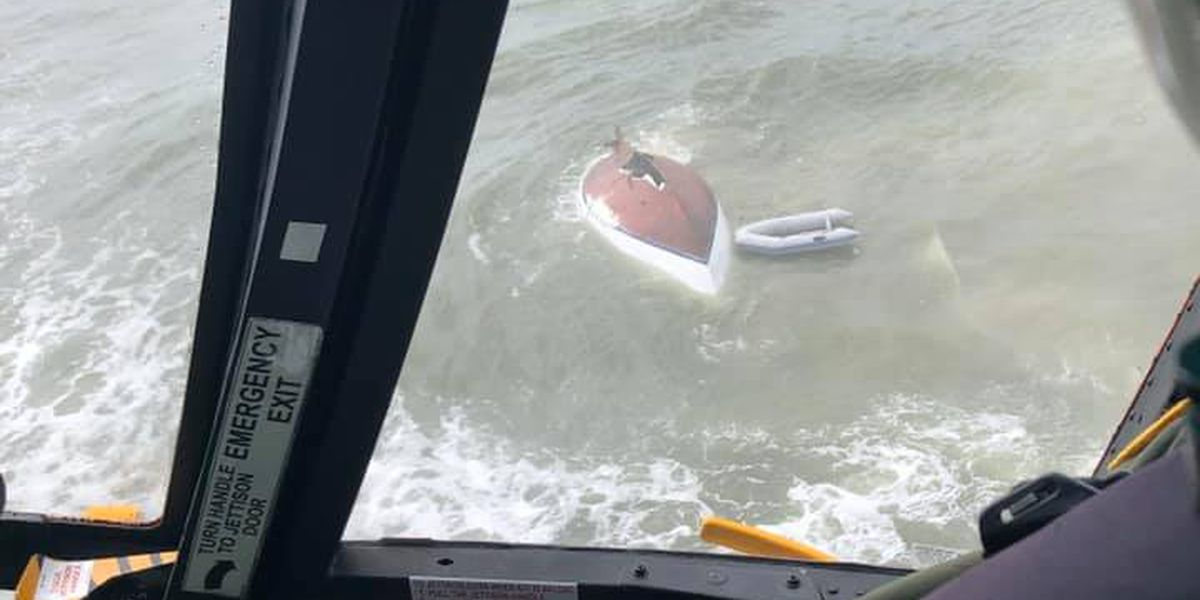 Coast Guard water rescue saves 3 near Seabrook Island