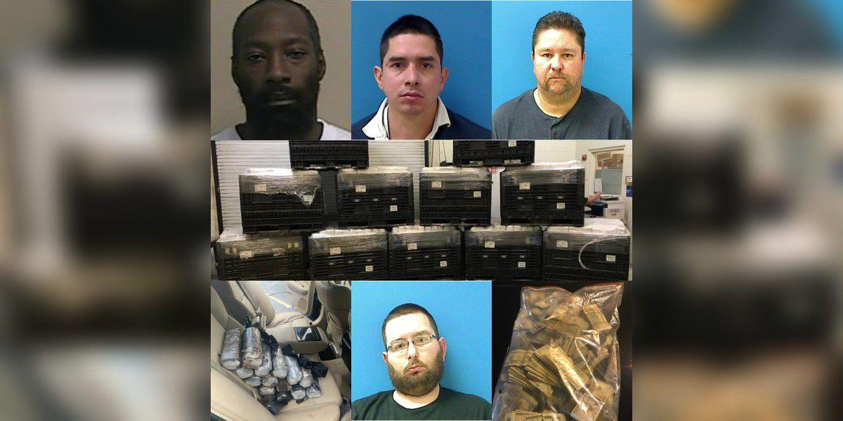 6K pounds of marijuana, 18 kilos of cocaine, $200K seized in NC drug investigation
