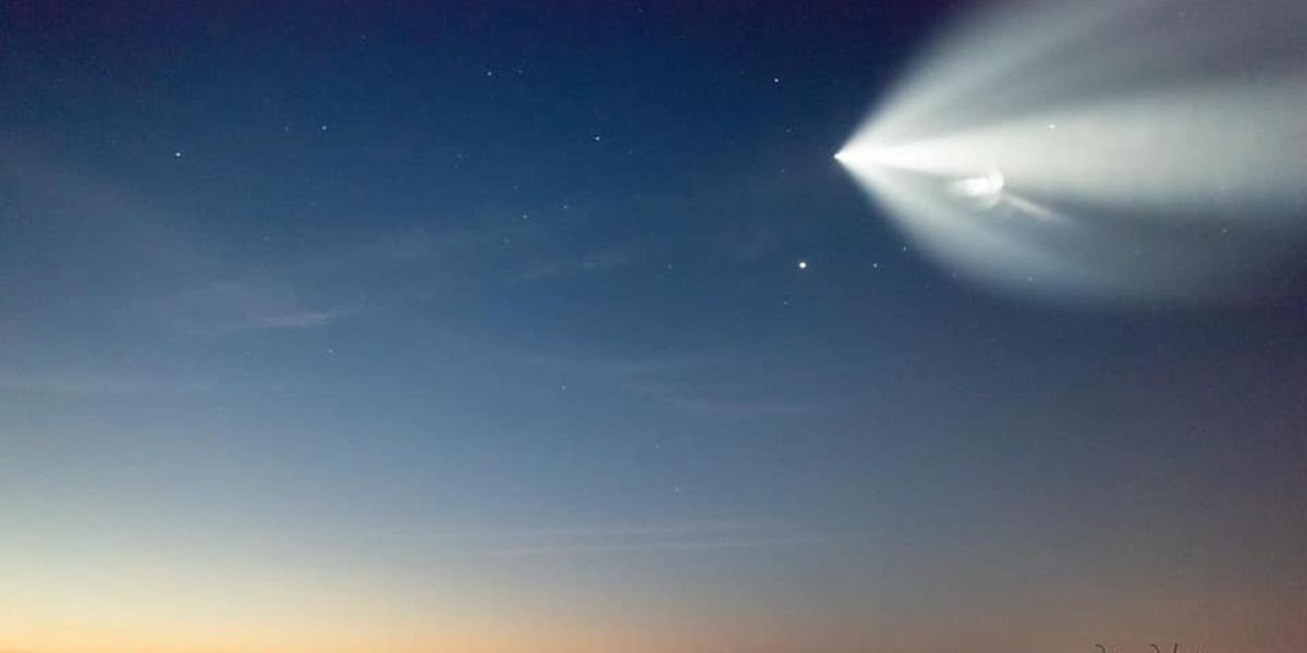 PHOTOS: Incredible morning SpaceX launch seen from Ga., S.C. coasts