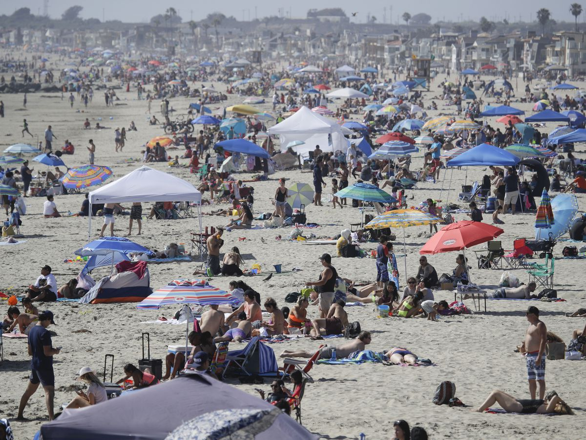 How California went from success story to virus hot spot