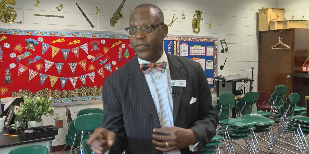 Top Teacher: Errol Roach, Waldo Pafford Elementary School