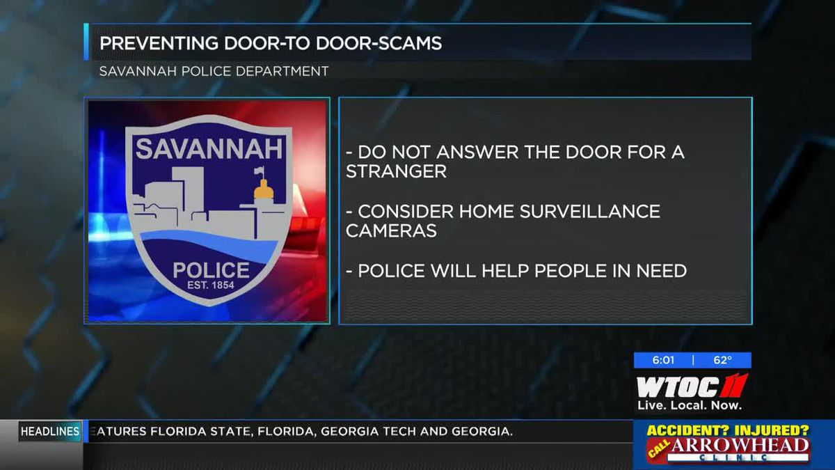 Savannah PD offering tips to help prevent scams
