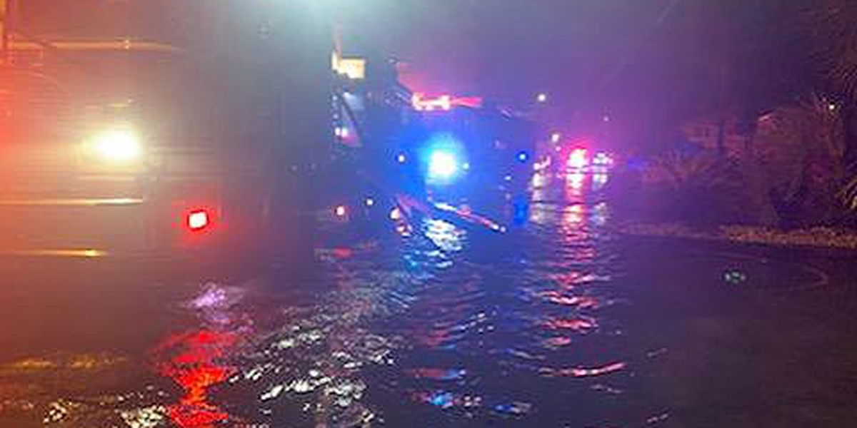 Crews in NMB rescue drivers on flooded roads, respond to multiple house fire
