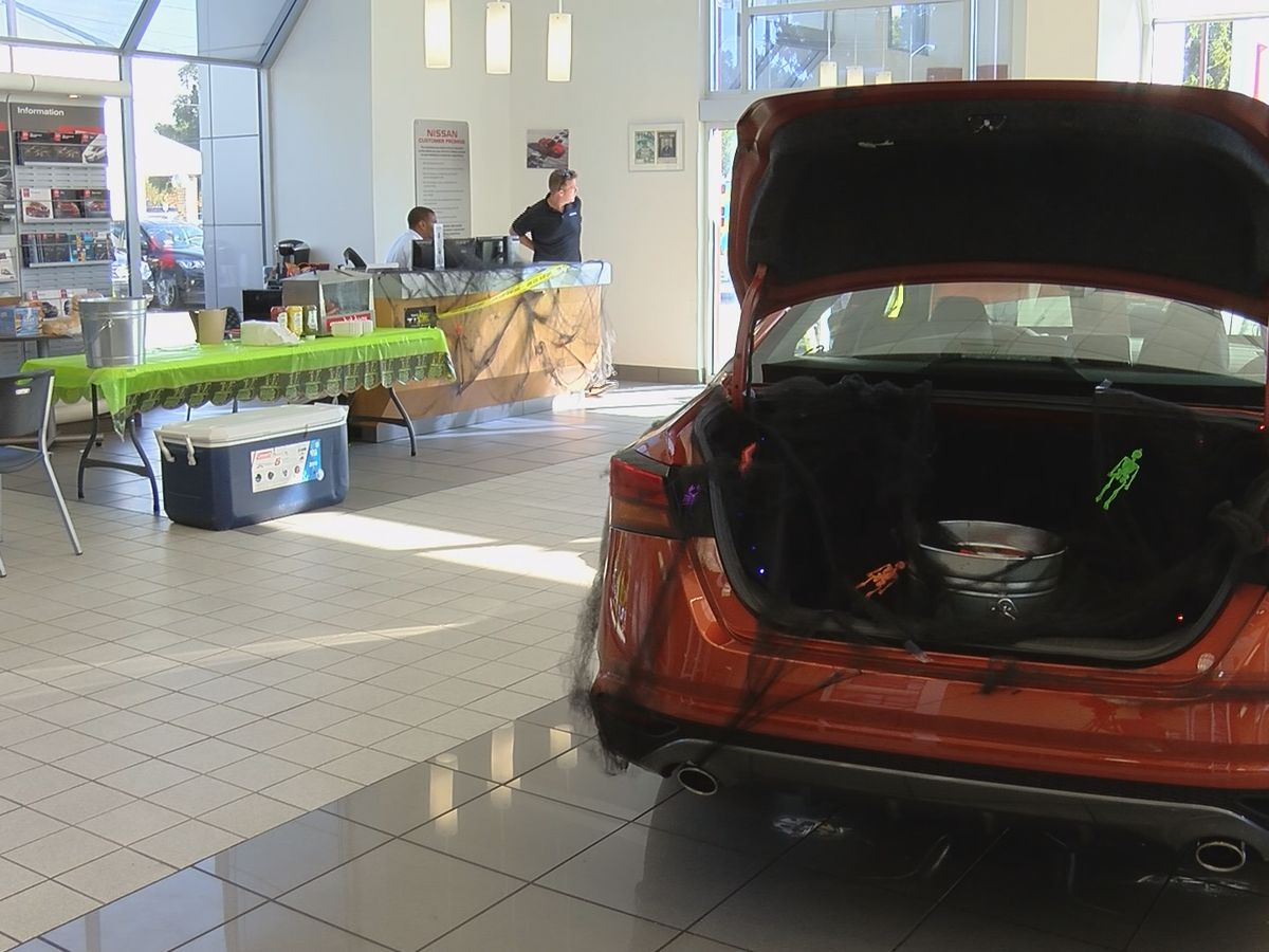 Vaden Nissan holds safety event for kids