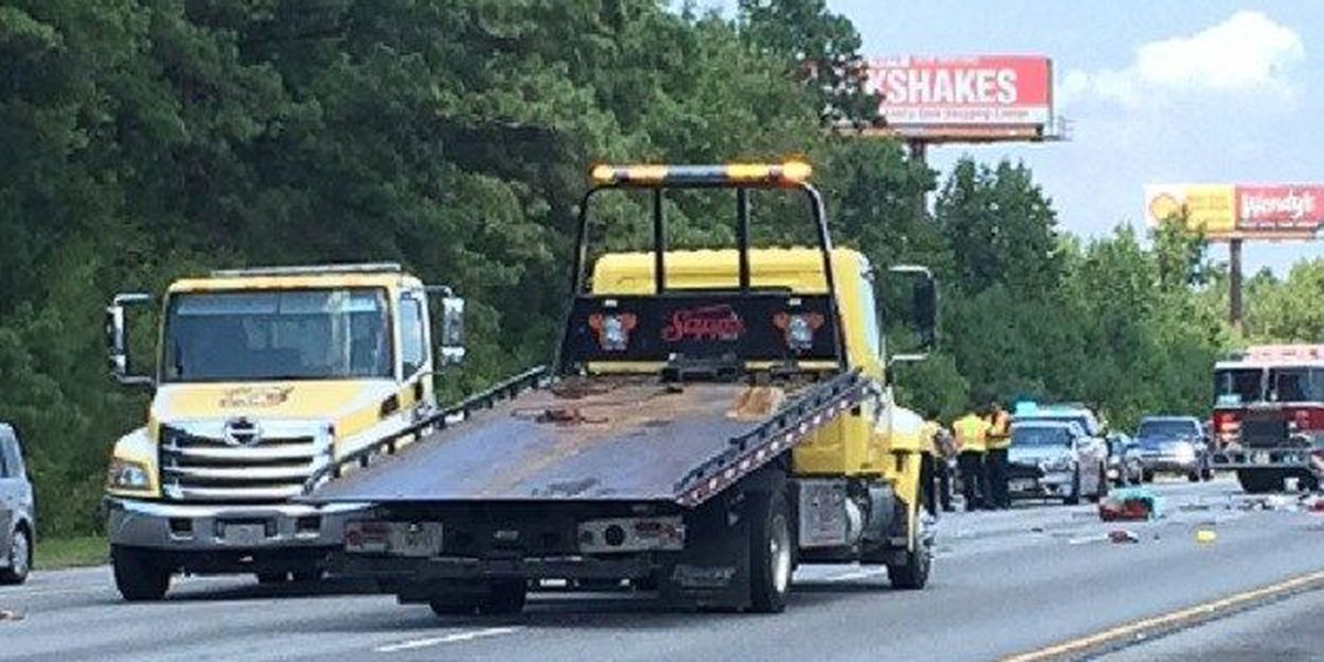 1 person airlifted to hospital after wreck on SB I-95 in Pooler