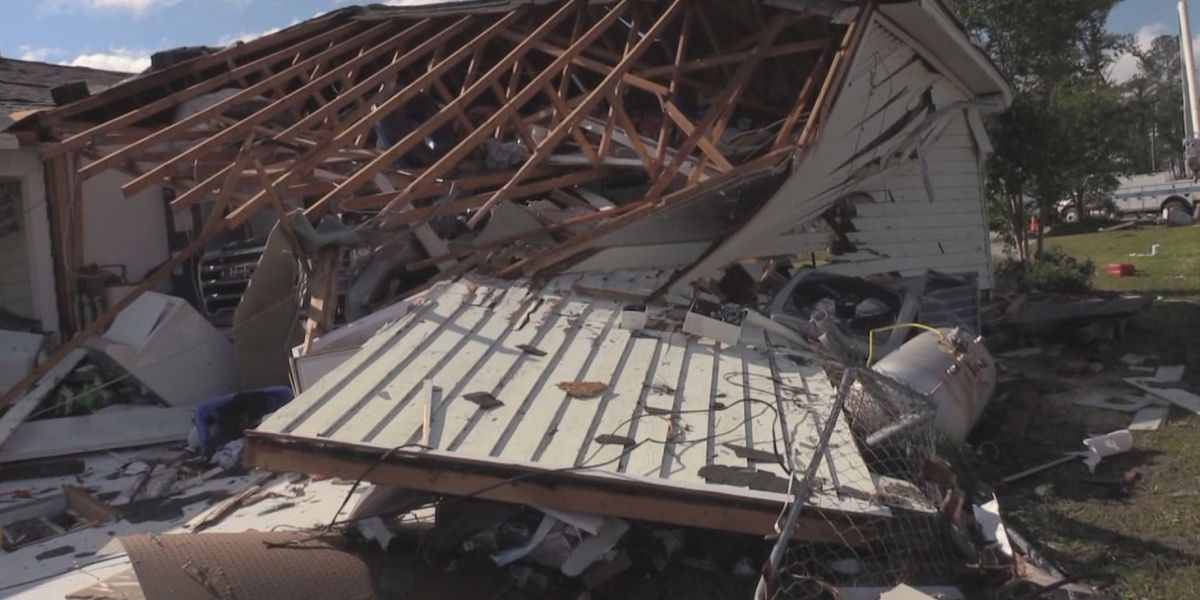 Coffee Co. community begins to clean up after EF-2 tornado touched down Saturday