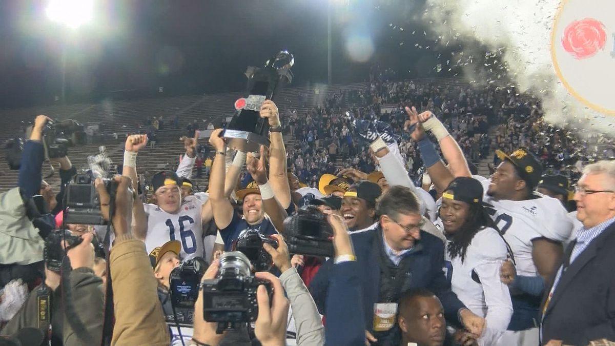 Georgia Southern Eagles win Camellia Bowl in dramatic fashion
