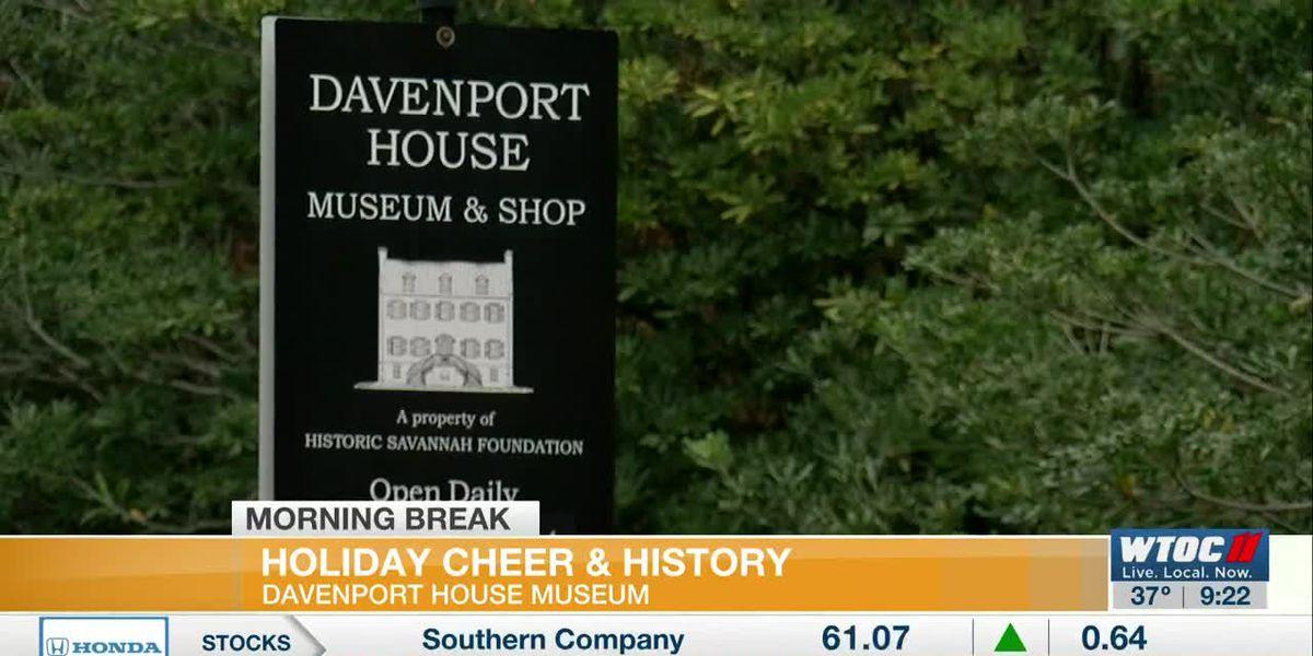 Davenport House Offers Hospitality, History During Holiday Season