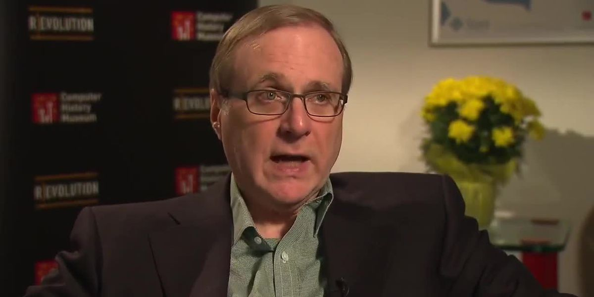 Microsoft co-founder Paul Allen passed away Monday afternoon after complications with non-Hodhkin's