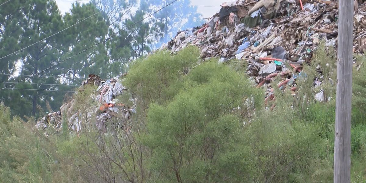 Jasper County declares emergency regarding trash pile