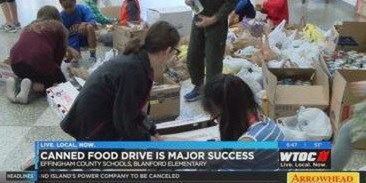 Effingham County Food Drive major success