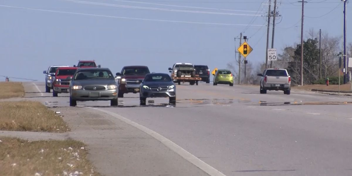 Roads packed in Bryan County during holiday traffic rush