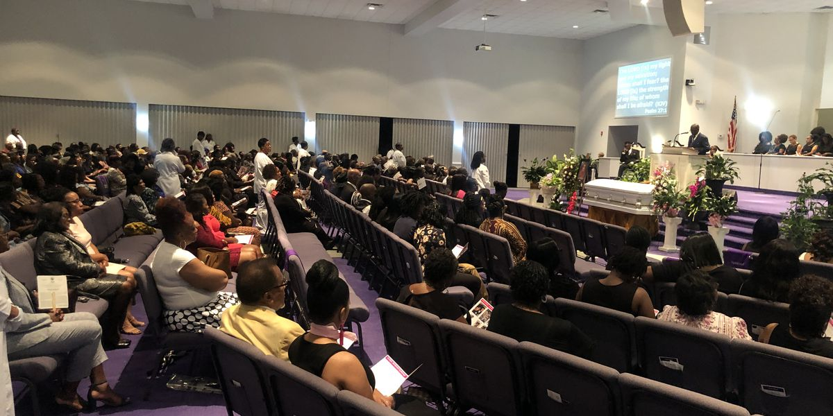 'She is resting with Jesus': Community says goodbye to beloved Sumter mother